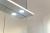 Aqualine KAWA galerka s LED osvětlením 60x70x24cm, bílá WGL60