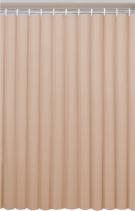 Aqualine Závěs 180x180cm, vinyl, béžová 0201003 BE