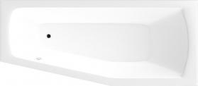 Aqualine OPAVA vana 170x70x39cm bez nožiček, pravá, bílá A1771