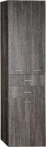 Aqualine ZOJA/KERAMIA FRESH skříňka vysoká s košem 50x184x29cm, mali wenge 51294