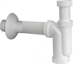 Sapho Dřezový sifon 1'1/2, odpad 50mm, bílá CV1015