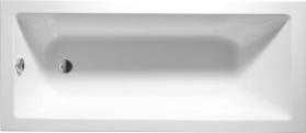 Aqualine DOUBRAVA obdélníková vana 160x70x42cm, bílá A1670