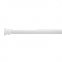 Ridder Teleskopická tyč, 110-185cm, prům.25mm, bílá 55201