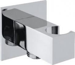 Sapho Držák sprchy hranatý, pevný, s vyústěním, chrom SG303