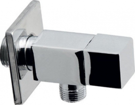 Aqualine Angle Valve 3/8'x1/2', chrome 5318