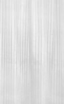 Aqualine Sprchový závěs 180x200cm, polyester, bílá ZP001
