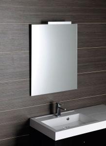 Aqualine Zrcadlo 40x60cm, s fazetou, bez úchytu 22495