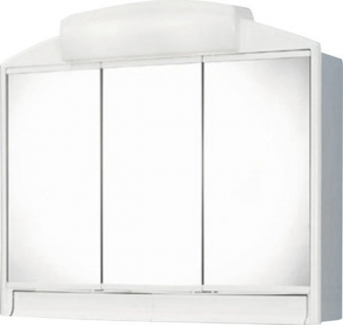 Aqualine RANO galerka 59x51x16cm, 2x12W, bílá plast 541302