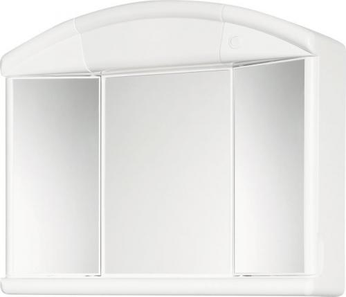 Aqualine SALVA galerka 59x50x15, 5cm, 1x12W, bílá plast 671232