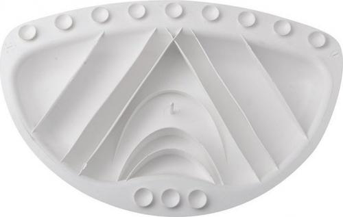 Aqualine TECNO podhlavník 30x20cm, béžová 68609