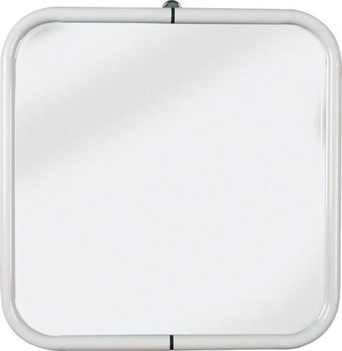 Aqualine Zrcadlo 44x44cm, bílá 8000