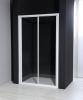 Aqualine AURELIA Sprchové dveře posuvné, čiré sklo, 1000 mm F100