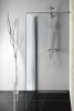 Aqualine WALK-IN zástěna jednodílná k instalaci na zeď, 1000x1900 mm, sklo Brick WI100