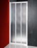 Aqualine DTR sprchové dveře posuvné 1000mm, bílý profil, polystyren výplň DTR-C-100