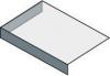 Sapho TAILOR rockstone deska 80x50 cm, provedení límce L TR080L