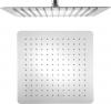 Sapho SLIM hlavová sprcha, čtverec 300x300mm, leštěný nerez MS563