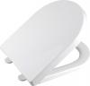 Aqualine DONA WC sedátko polypropylen, soft close, bílá FD121