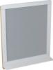 Sapho PRIM zrcadlo s policí 70x84x14cm, cedr/bílá PM001