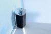 Aqualine SEVENTY dávkovač mýdla na postavení, černá 638214