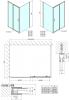 Polysan Easy Line obdélníkový sprchový kout 1200x900mm L/P varianta EL1215EL3315