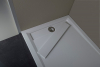 Polysan VARESA sprchová vanička z litého mramoru se záklopem, obdélník 120x80x4cm, bílá 71604