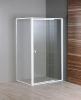 Aqualine AMICO sprchové dveře výklopné 740-820x1850 mm, čiré sklo G70