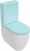 Kerasan FLO WC kombi mísa 36x43x60cm, spodní/zadní odpad 311701