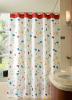 Aqualine Sprchový závěs 180x200cm, polyester, květovaný ZP007