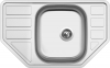 Nerezový dřez Sinks CORNO 770 V 0,6mm matný STSCRM7704806V