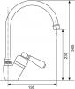 Sinks RETRO 54 lesklá AVRT54CL