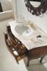 Gallo Wood GELSO NOCE 87-S skříňka s umyvadlem, š.87cm, mramor Rosa Perlino, noce GN-87S