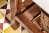 Sapho PRIM umyvadlová skříňka 92x72x50cm, buk/bílá PM095