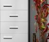 Aqualine ZOJA/KERAMIA FRESH skříňka vysoká 35x184x29cm, bílá 51220
