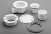 Polysan Vaničkový sifon, průměr otvoru 90mm, DN40, pro vaničky MIRAI, ABS, bílá 73181