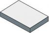 Sapho TAILOR rockstone deska 80x50 cm, provedení límce R TR080R