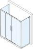 Polysan Lucis Line třístěnný sprchový kout 1600x1000x1000mm DL4315DL3515DL3515