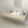 Sapho TAILOR rockstone deska 150x50 cm, provedení límce C TR150C