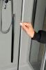 Polysan LUCIS LINE sprchové dveře 1400mm, čiré sklo DL1415