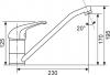 Sinks CAPRI 4 Metalblack AVCA4GR74