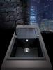 Granitový dřez Sinks AMANDA 860 Titanium+MIX 3P GR TLA860M3P72