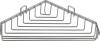 Aqualine CHROM LINE drátěná rohová mýdlenka, chrom 37003