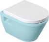 Aqualine DONA WC sedátko polypropylen, soft close, bílé FD121