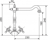 Sinks RETRO 2000 bronz AVRT200BR