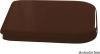 Kerasan WALDORF WC sedátko Soft Close, dřevo masiv, ořech/bronz 418640