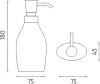 Nimco Ava Dávkovač tekutého mýdla AV 15031-90