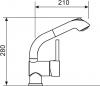 Sinks MIX 3 S lesklá MP68055