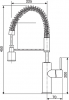 Sinks MITU PROF S lesklá MP68061
