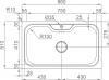 Nerezový dřez Sinks BIG 860 V 1,0mm leštěný MP68141