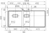 Nerezový dřez Sinks XERON 1000.1 MP68160
