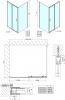 Polysan Easy Line obdélníkový sprchový kout 1300x700mm L/P varianta EL1315EL3115